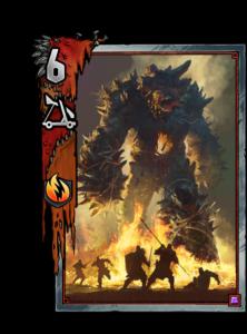 Feuergenius - Gwent Kartenbild