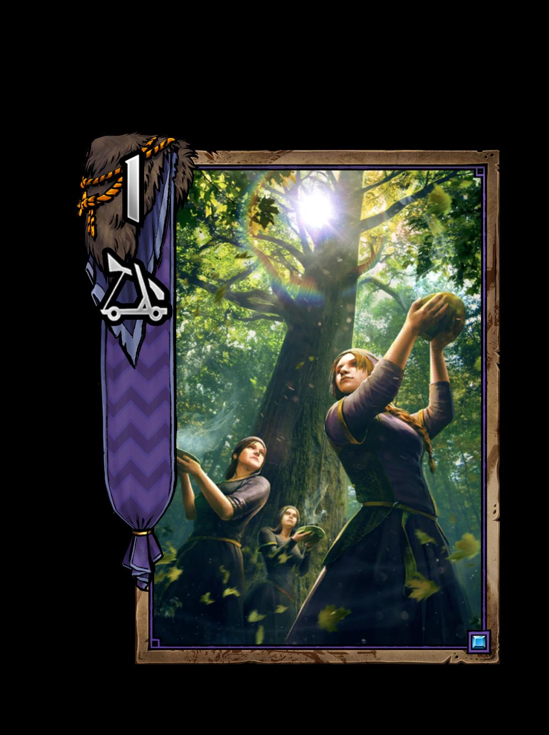 Freya-Priesterin - Gwent Kartenbild