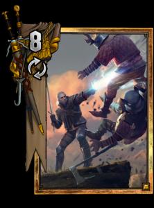 Geralt: Aard - Gwent Kartenbild