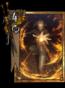 Geralt: Igni - Gwent Kartenbild