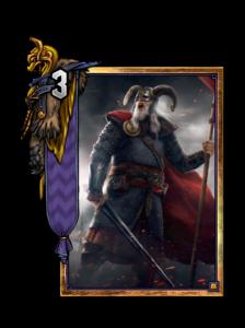 Harald der Krüppel - Gwent Kartenbild
