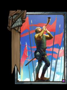 Horn des Kommandanten - Gwent Kartenbild