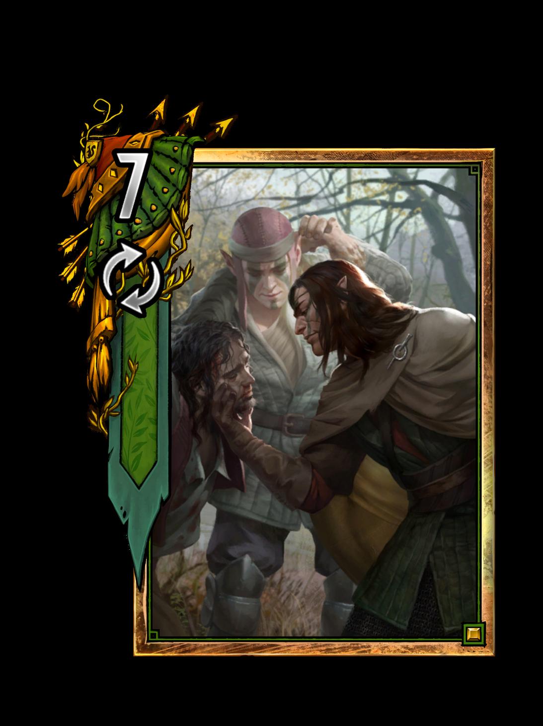 Isengrim - Gwent Kartenbild