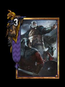 König Bran - Gwent Kartenbild