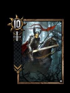 Nilfgaardischer Ritter - Gwent Kartenbild