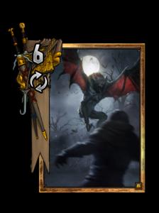 Regis: Höherer Vampir - Gwent Kartenbild
