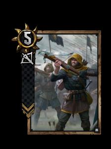 Schütze der Schwarzen Infanterie - Gwent Kartenbild