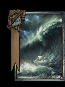 Skellige-Sturm - Gwent Kartenbild