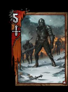 Soldat der Wilden Jagd - Gwent Kartenbild