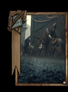 Strömender Regen - Gwent Kartenbild