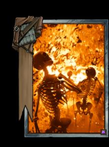 Verbrennen - Gwent Kartenbild