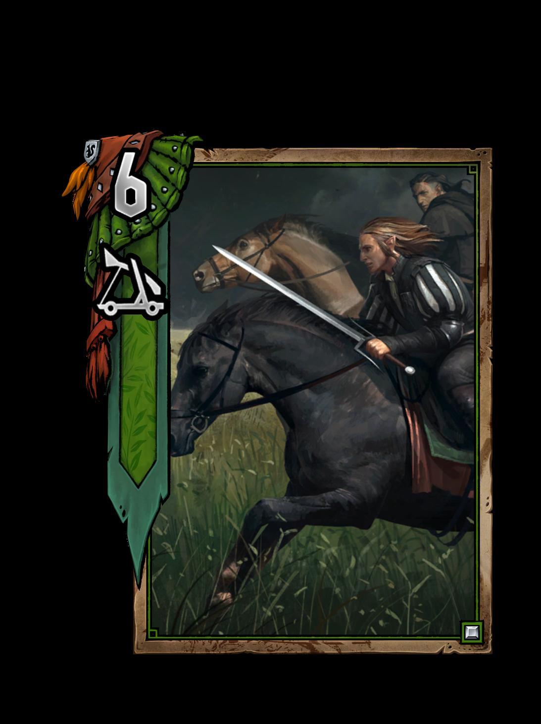 Vrihedd-Dragoner - Gwent Kartenbild