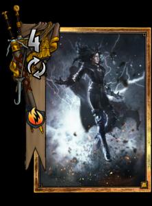 Yennefer: Die Zauberin - Gwent Kartenbild
